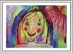 Автопортрет. Валерия Маринова, 7 лет. ДШИ № 3, студия